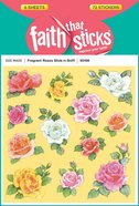 Fragrant Roses Stick-N-Sniff (6 Sheets, 72 Stickers) (Stickers Faith That Sticks Series)