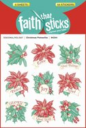 Christmas Poinsettia (6 Sheets, 54 Stickers) (Stickers Faith That Sticks Series)