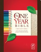NLT One Year Bible Reflections Edition Hardcover