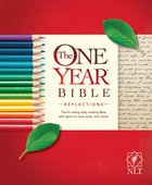 NLT One Year Bible Reflections Edition Paperback