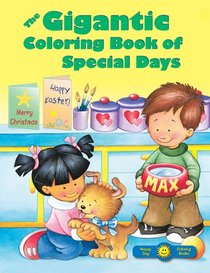 The Gigantic Colouring Book of Special Days
