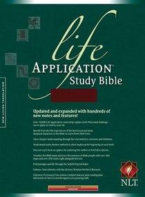 NLT Life Application Study Burgundy (Red Letter Edition)