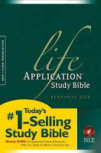 NLT Life Application Study Personal Size (Black Letter Edition)