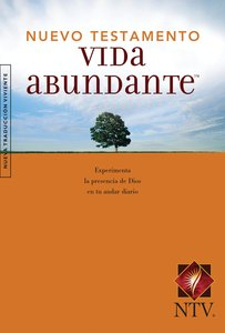 Ntv Vida Abundante Nuevo Testamento (Black Letter Edition) (Abundant Life New Testament)