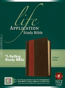 NLT Life Application Study Bible Brown/Tan (Red Letter Edition)