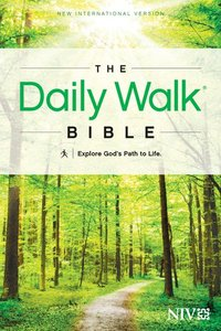 NIV Daily Walk Bible (Black Letter Edition)