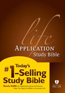 HCSB Life Application Study Bible (Red Letter Edition)