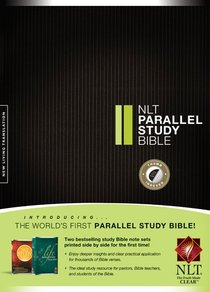 NLT Parallel Study Bible Thumb Indexed (Black Letter Edition)