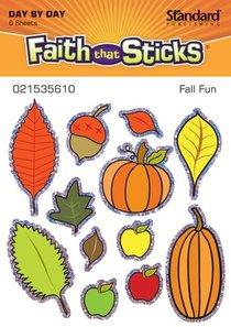 Fall Fun (6 Sheets, 72 Stickers) (Stickers Faith That Sticks Series)