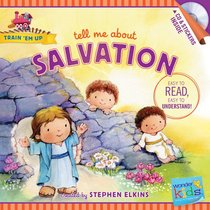 Tell Me About Salvation (Includes CD & Stickers) (Wonder Kids: Train Em Up Series)