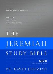 NIV the Jeremiah Study Bible