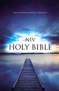 NIV Value Outreach Bible Blue Pier