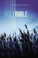NIV Value Outreach Bible Blue Wheat