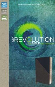 NIV Revolution Bible Gray/Navy the Bible For Teen Guys