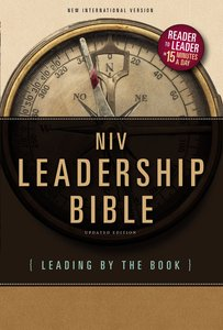 NIV Leadership Bible (Black Letter Edition)