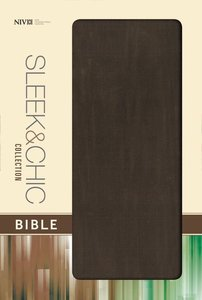 NIV Sleek and Chic Collection Bible Mocha Blast (Red Letter Edition)
