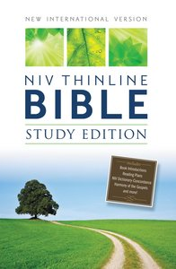NIV Thinline Study Bible