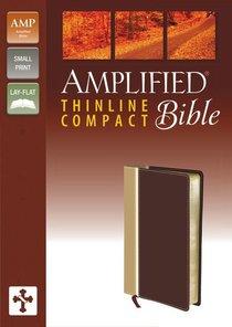 Amplified Compact Thinline Italian Duo-Tone Camel/Burgundy