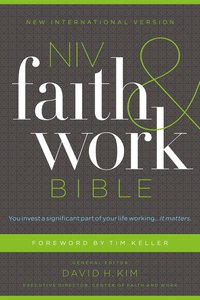 NIV Faith and Work Bible (Black Letter Edition)
