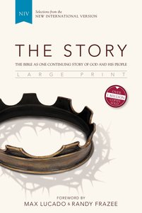 The Bible in One Continuing Story of God and His People (Black Letter Edition) (The Story Series)