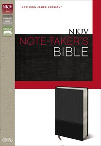 NKJV Note-Takers Bible (Red Letter Edition)