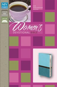 NIV Womens Devotional Bible Turquoise/Caribbean Blue