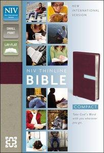 NIV Thinline Bible Compact Razzleberry/Sea Glass