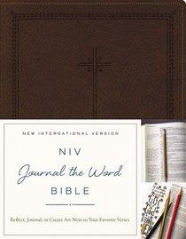 NIV Journal the Word Bible Brown