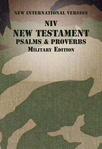 NIV New Testament With Psalms and Proverbs Woodland Camo