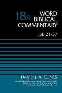 Job 21-37 (Word Biblical Commentary Series)
