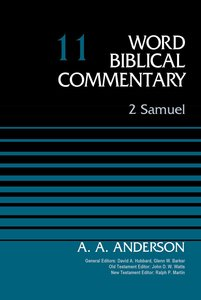 2 Samuel (Word Biblical Commentary Series)