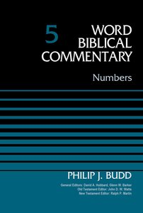 Numbers (Word Biblical Commentary Series)