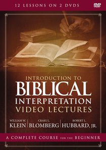 Introduction to Biblical Interpretation (Video Lectures) (Zondervan Academic Course Dvd Study Series)