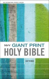 NIRV Giant Print Holy Bible (Black Letter Edition)