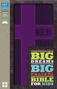 NIV Big Dreams Big Prayers Bible For Kids Fuschia