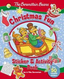 Sticker & Activity Book: The Berenstain Bears Christmas Fun