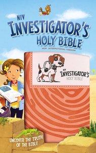 NIV Investigators Holy Bible Coral