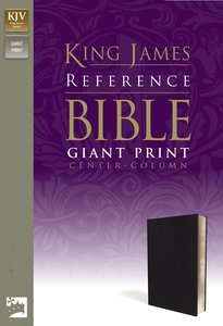 KJV Reference Bible Giant Print (Red Letter Edition)