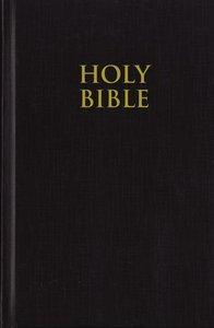 KJV Pew Bible Large Print Black (Red Letter Edition)