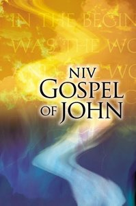 NIV Gospel of John Blue/Orange Paperback