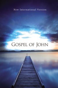 NIV Gospel of John Blue Pier Paperback