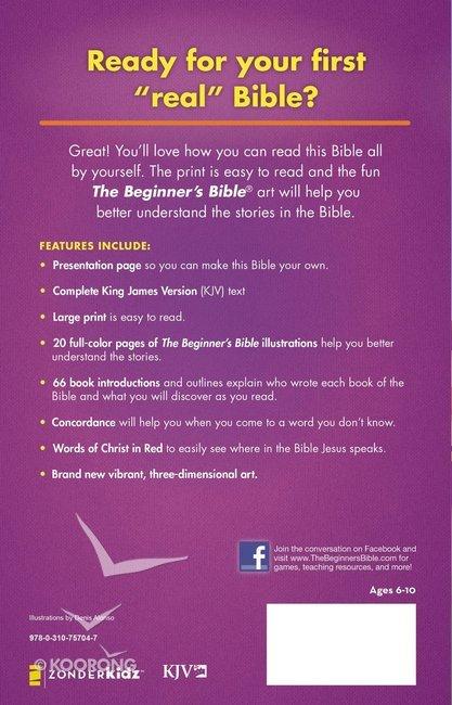 KJV Beginner's Bible Large Print (Red Letter Edition)
