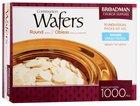 "Communion Bread 1000 Wafers 1 1/8"" Round"