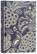 ESV Compact Bible Blue Flora