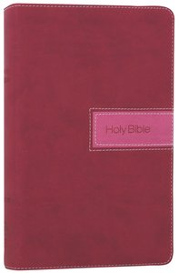 NIV Gift Bible Razzleberry (Red Letter Edition)