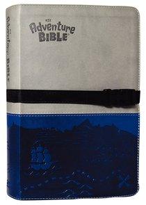 NIV Adventure Bible Gray Blue Clip Closure Duo-Tone