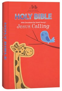 ICB Jesus Calling Bible For Children (Black Letter Edition)