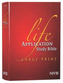 Buy niv life application study bible large print red letter edition niv life application study bible large print red letter edition fandeluxe Gallery