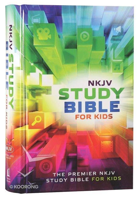 NKJV Study Bible For Kids (Black Letter Edition)