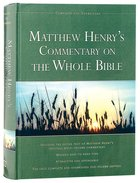 Matthew Henrys Commentary on the Whole Bible